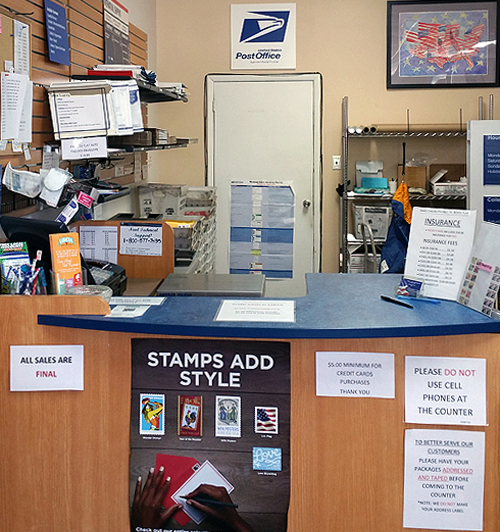 Satellite USPS Post Office